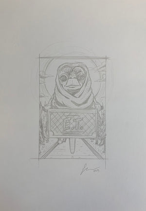 "Florey ""E.T. Unused Concept Sketch"""