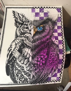 "Bioworkz x Joey Feldman ""Owl Out Of Chaos"" Hand-Embellished Edition"