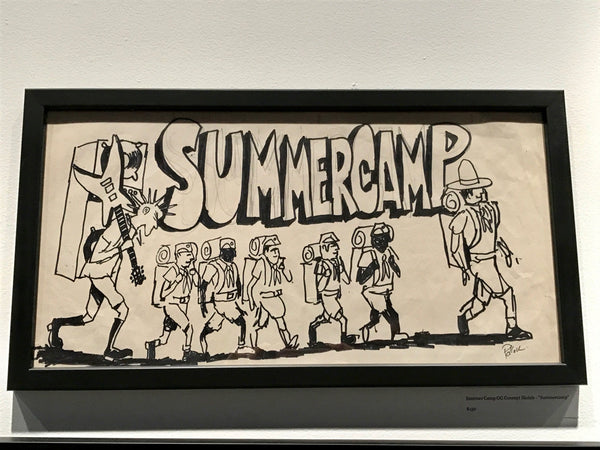 Summer Camp Fest OG Concept Sketch