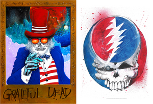 "Joey Feldman ""Grateful Dead: Uncle Sam Wants You + Heady Skull"" SET"