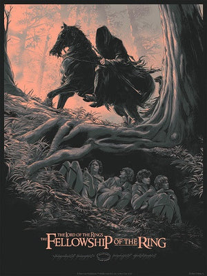 "Juan Esteban Rodriguez ""LOTR: The Fellowship of the Ring"" Variant"