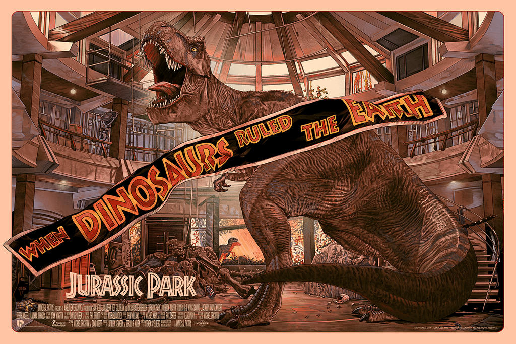 JURASSIC PARK by Juan Carlos Ruiz Burgos - On Sale INFO!