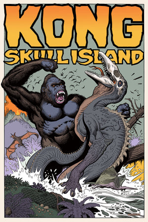 "William Stout ""KONG: Skull Island"""