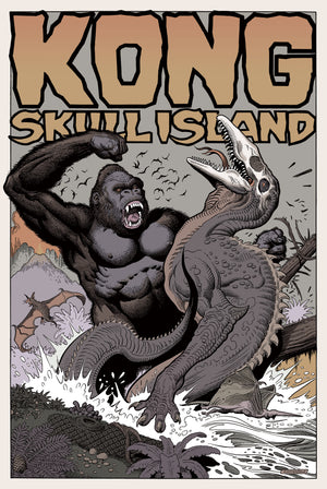 "William Stout ""KONG: Skull Island"" Variant"