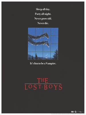 "John Alvin ""The Lost Boys - Teaser Poster"""