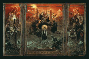 "Gabz ""The Lord of the Rings Triptych"" Variant"