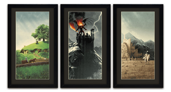 Matt Ferguson Quot The Lord Of The Rings Trilogy Quot Set