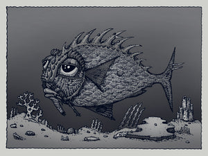 "David Welker ""Lonious Fish"" Silver Variant"
