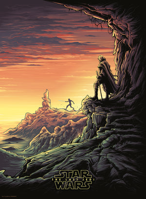"Dan Mumford ""It is Time for the Jedi to End"" Timed Edition"