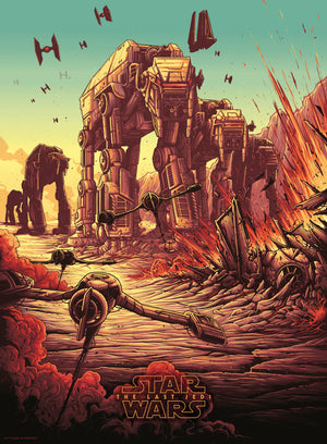 "Dan Mumford ""The Spark That Will Light the Fire"" Timed Edition"