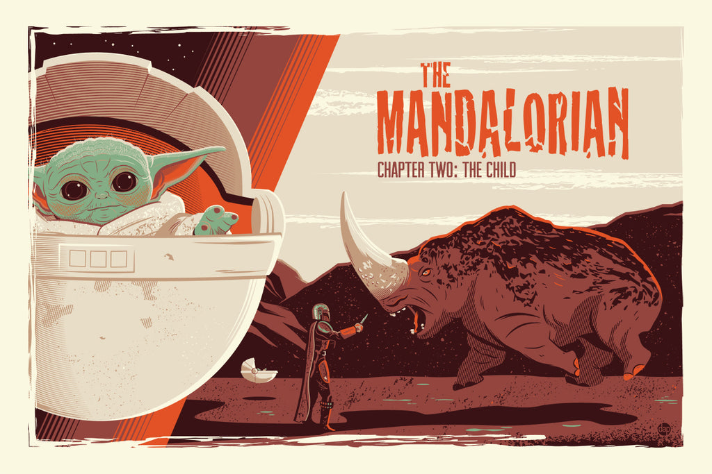 THE MANDALORIAN PRINTS BY DAVE PERILLO & CHRISTIAN WAGGONER - ON SALE INFO!