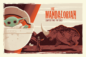 "Dave Perillo ""Chapter Two & Three (The Mandalorian)"" SET"