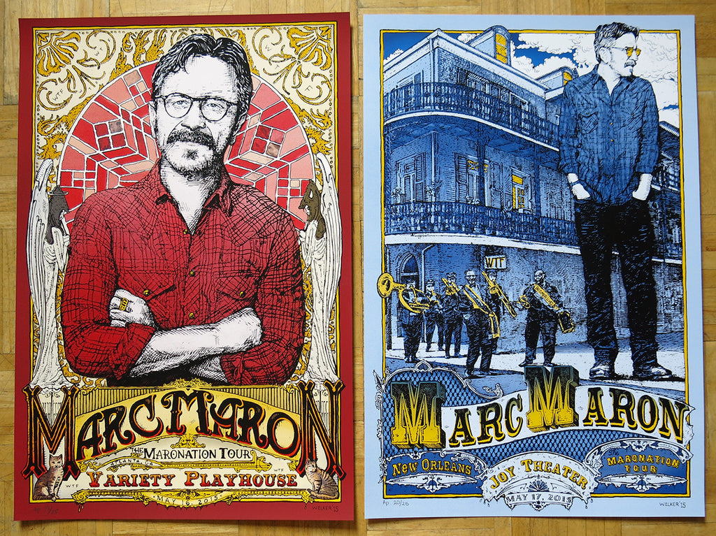 "David Welker ""Marc Maron"" NOLA & Atlanta AP Set"