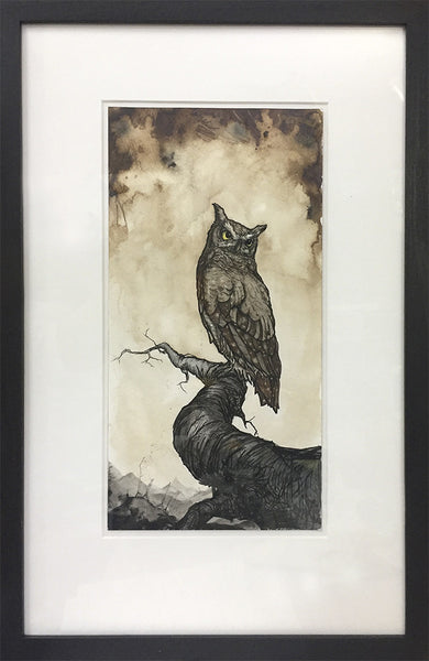 "Brian Mashburn ""Great Horned Owl Study"""