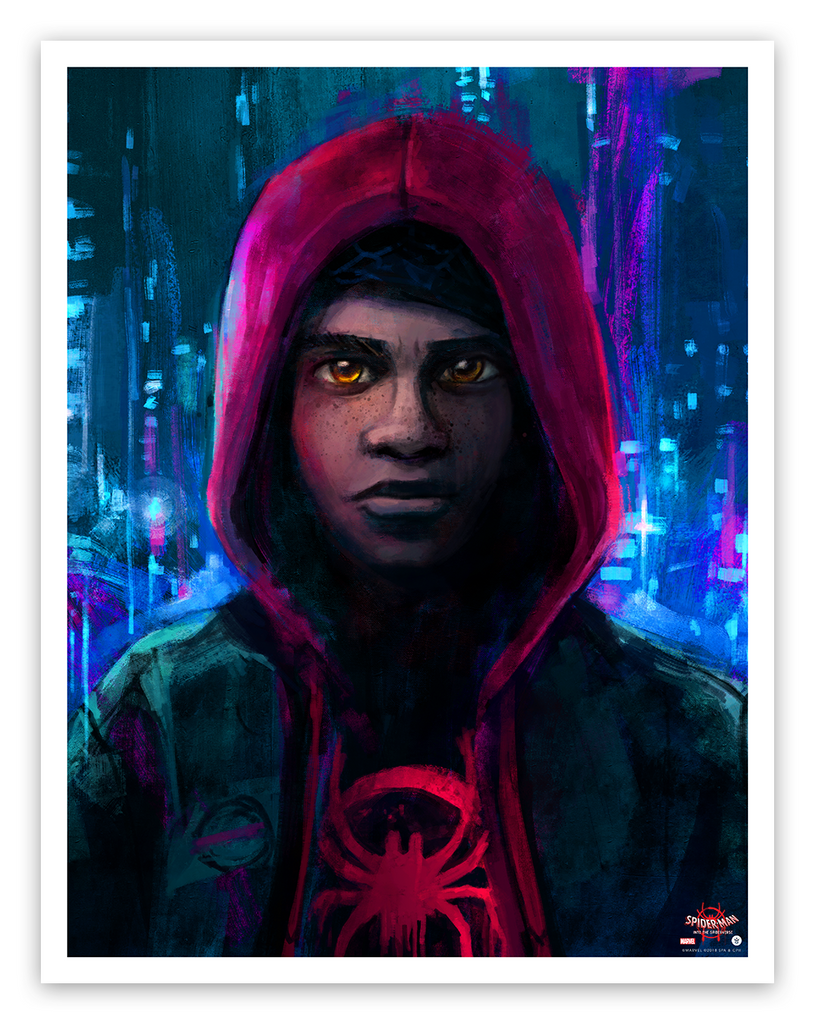 SPIDER-MAN: INTO THE SPIDER-VERSE Prints by Alice X. Zhang On Sale Info!