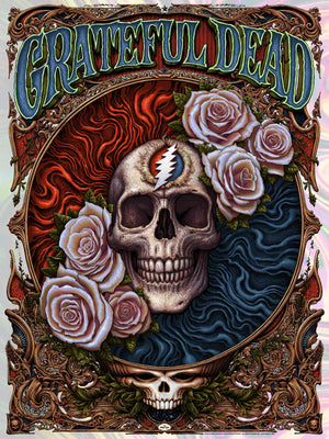 "N.C. Winters ""Grateful Dead"" Foil Variant"