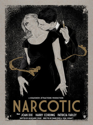 "Timothy Pittides ""Narcotic"" Timed Edition"