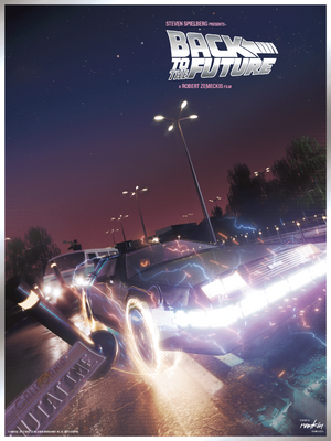 "Oliver Rankin ""Back to the Future"" Foil Variant"