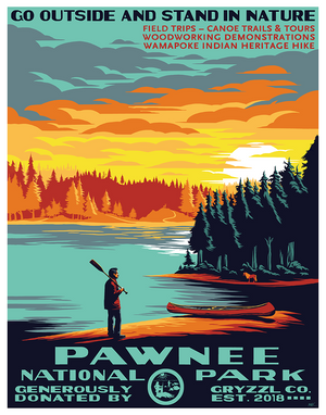 "Mark Englert ""Pawnee National Park"" Charity Print"