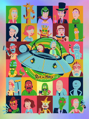 "Dave Perillo ""Rick and Morty"" Foil Variant"