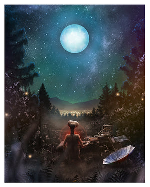 "Andy Fairhurst ""E.T. the Extra-Terrestrial"""