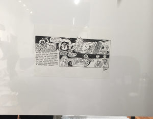 Phish Fishman space comic featured in Spring 1995 Doniac Schvice