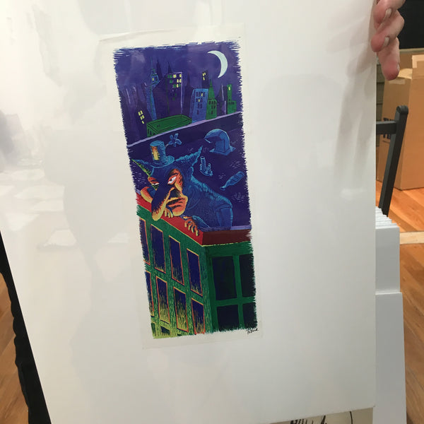 "Phish Clifford Ball Era ""Bookmark"" Large offset print - A"