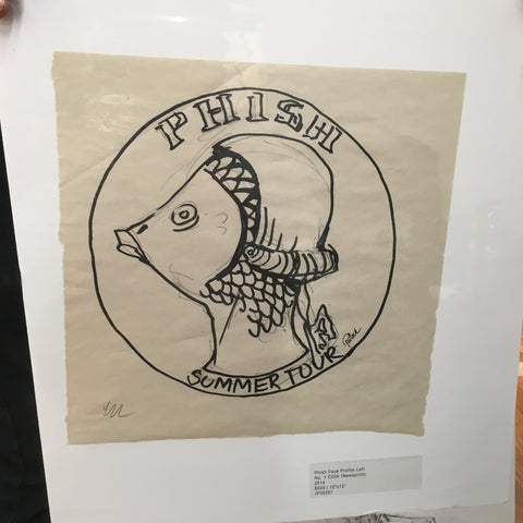 Phish Coin back George Washington OG Marker Sketch