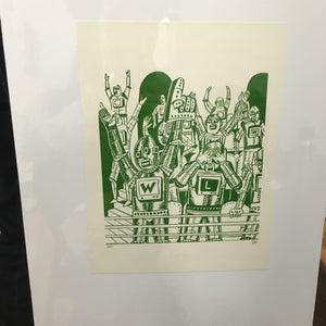 Fanbot numbered ed print