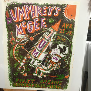 Umphrey's Mcgee Minneapolis 2015