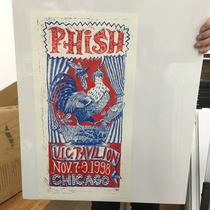 Phish Chicago UIC 11-98 AP