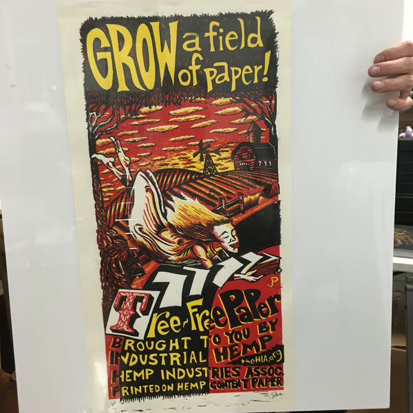 Hemp Series #2 - Grow A Field of Paper - AP NM