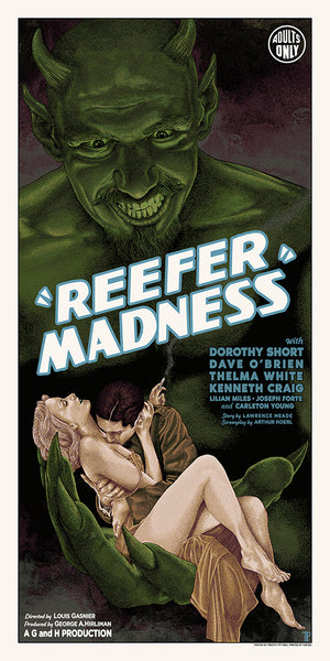 "Timothy Pittides ""Reefer Madness"" Variant"