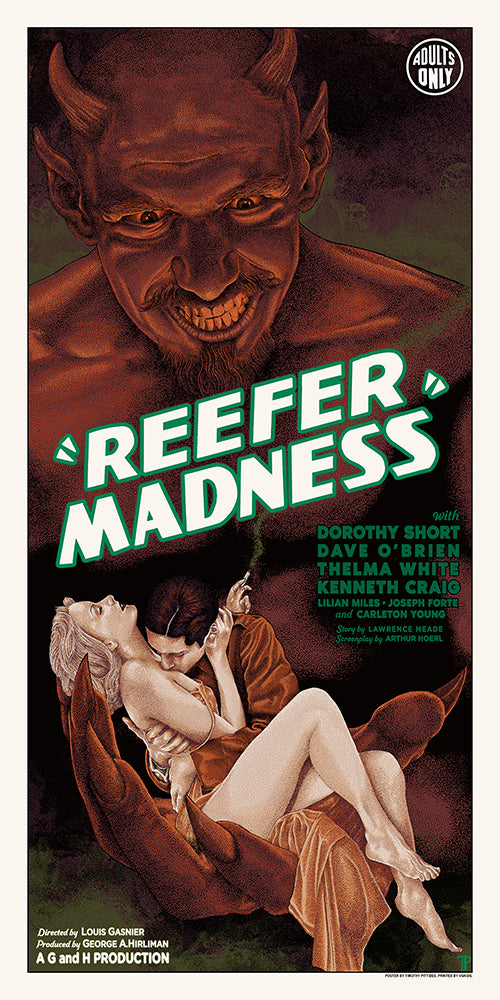 REEFER MADNESS by Timothy Pittides / BICYCLE DAY & GHOSTS OF THE FOREST by Jim Pollock On Sale Info!