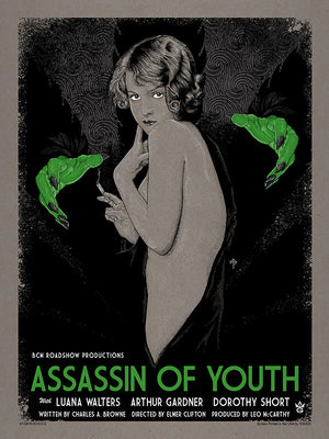 "Timothy Pittides ""Assassin of Youth"" Gallery Variant"