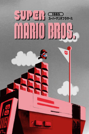 "Lyndon Willoughby ""Super Mario Bros."" Foil Variant"