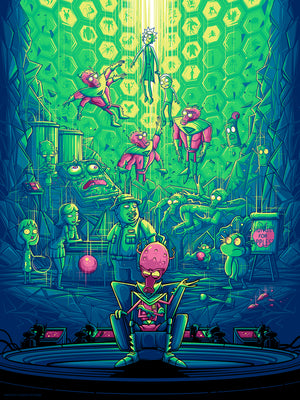 "Dan Mumford ""Two Parts Plutonic Quarks"""