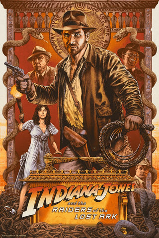 "Chris Weston ""Indiana Jones and the Raiders of the Lost Ark: Finding The Ark"""