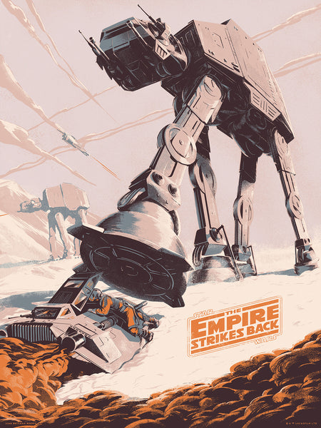 "Juan Esteban Rodriguez ""The Empire Strikes Back"" Variant"