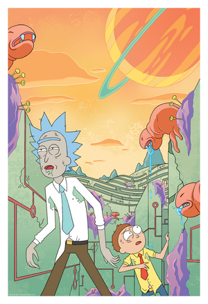 "CJ Cannon & Ryan Hill ""Rick and Morty - Cover #2"""