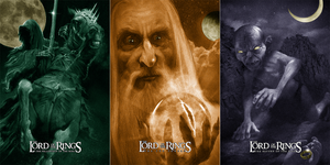 "Richard Hilliard ""The Lord of the Rings: Trilogy"" SET"