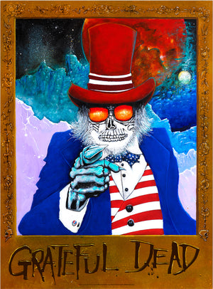 "Joey Feldman ""Grateful Dead: Uncle Sam Wants You"" Timed Edition"