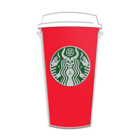 """The Red Cup"" Enamel Lapel Pin"