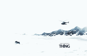 "Waxwork Records ""The Thing"" Snow Edition Vinyl"