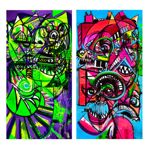 "Joey Feldman ""The Present: Diptych"""
