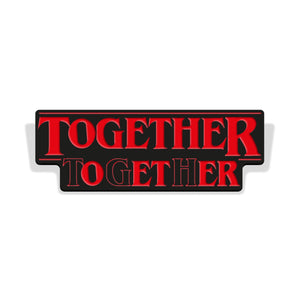 """Together"" Enamel Pin"