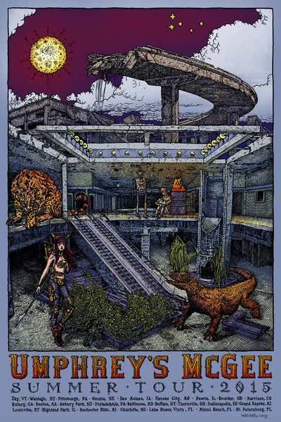 "David Welker ""Umphrey's McGee Summer Tour"""