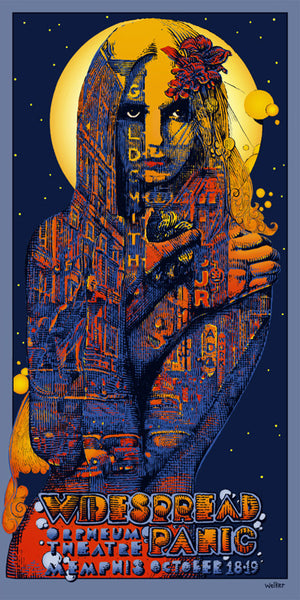 "David Welker ""Widespread Panic"" Memphis"