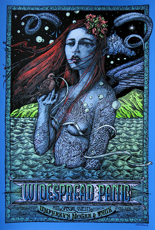 "David Welker ""Widespread Panic - Jones beach"""