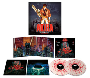 AKIRA - Original Soundtrack LP (Pre-Order) 150g Clear w Red Splatter